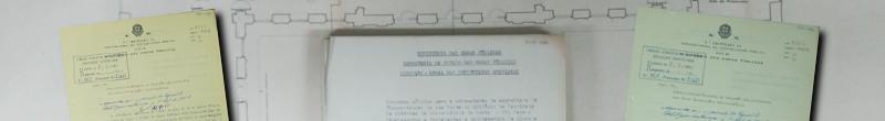 Banner Processos de Obras do Arquivo Técnico do DEGRE