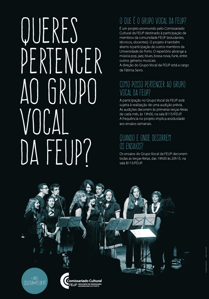 grupo vocal da feup