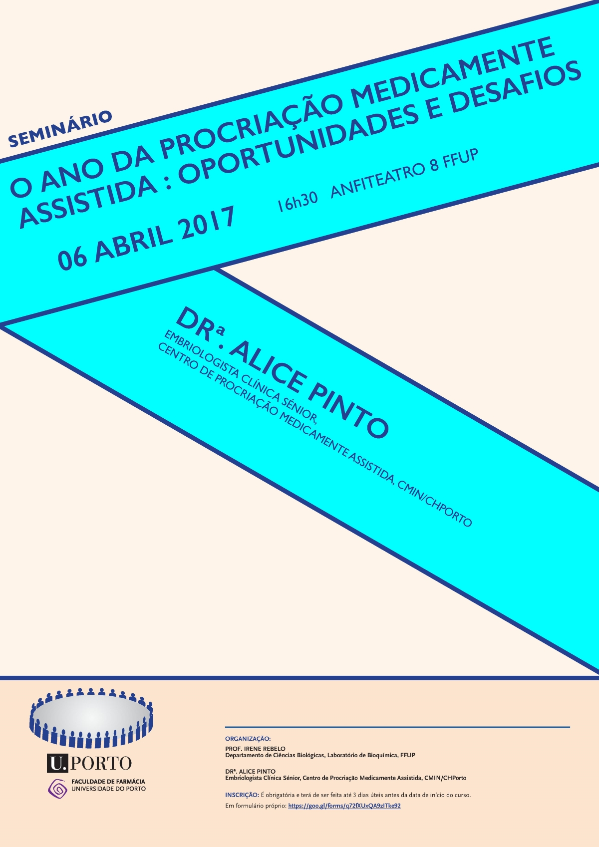Cartaz do seminário do dia 6 de abril de 2017