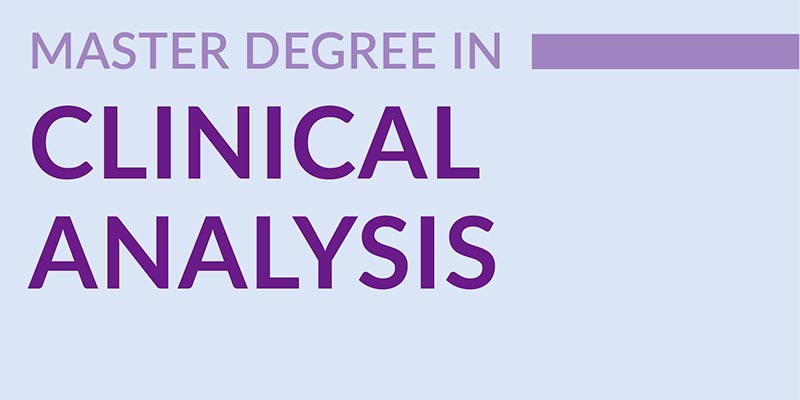 Master Degree in Clinical Analysis