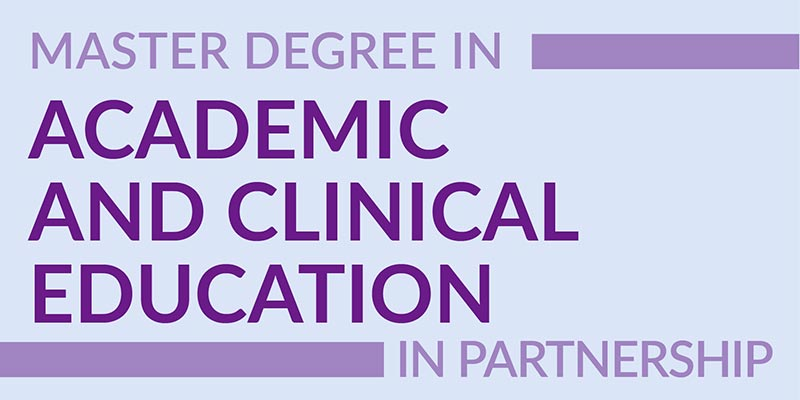 Master Degree Academic and Clinical Education