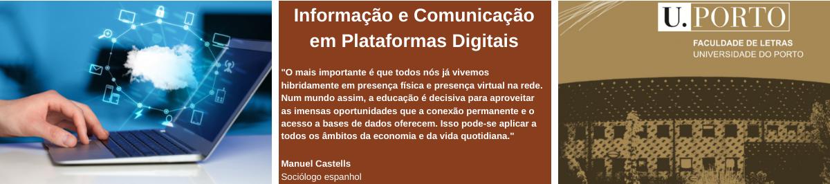 Imagem com citação de Manuel Castells, Sociólogo espanhol: