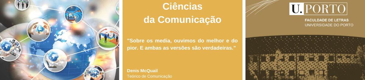 Imagem com citação de Denis McQuail, teórico de comunicação: