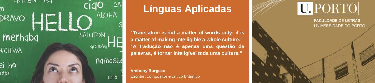 Imagem com citação de Anthony Burgess, escritor, compositor e crítico britânico: