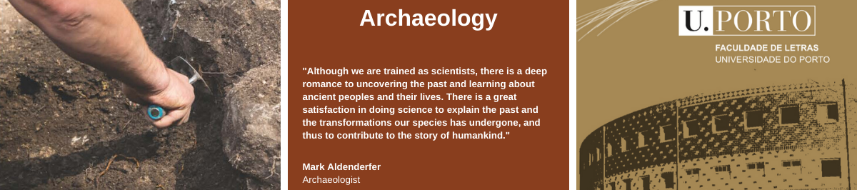 Image with quote from Mark Aldenderfer, Archaeologist: