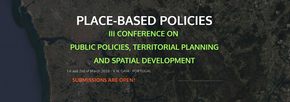 Place-Based Policies | III Conference On  Public Policies, Territorial Planning And Spatial Development