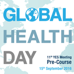 YES MEETING | Inscri��es abertas para Global Health Day | 15/09/16