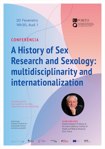 cartaz A History of Sex Research and Sexology: multidisciplinarity and internationalization