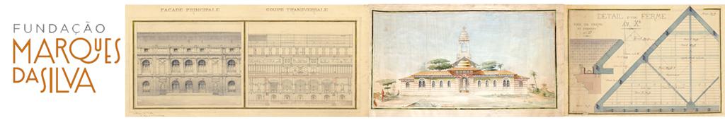 Banner de desenhos de arquitectura de JMS