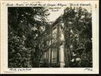 Imagem pequena da fotografia - Casa Andresen - Fachada principal em 1937 vista de poente