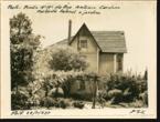 Imagem pequena da fotografia - Casa da família Andresen na Rua António Cardoso - Fachada lateral e jardim da casa n.º 184 (1937)