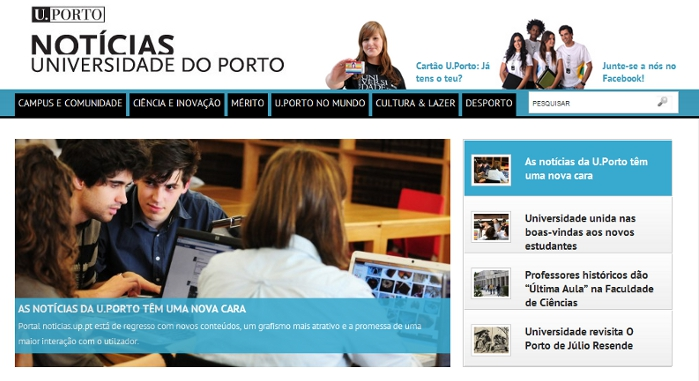 Universidade do Porto – Newsletter Alumni
