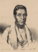 Lithograph of Vicente José de Carvalho
