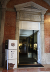 Fotografia da Entrada do Museu de Mineralogia (Sala de Mineralogia Montenegro de Andrade) / Photo of the Entrance of the Museum of Mineralogy (Montenegro de Andrade Mineralogy Hall)