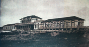 Fotografia do Sanatório Marítimo do Norte, Vila Nova de Gaia, 1917 / Photo of the North Seaside Sanatorium, Vila Nova de Gaia, 1917
