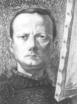 Auto-retrato de Isolino Vaz