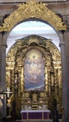Retábulo-mor da igreja de Santo Ildefonso / Altarpiece of the church of Santo Ildefonso
