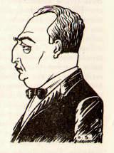 Caricature of Octávio Sérgio