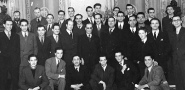 Fotografia do grupo de artistas Os Independentes, 1944 / Photo of the group of artists The Independent, 1944