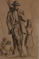 Isolino Vaz (aguarela e crayon)