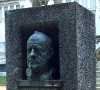 Foto do Busto de Gonçalo Sampaio no Jardim Botânico do Porto / Photo of the bust of Gonçalo Sampaio at the Botanical Gardens of Porto