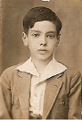 Fotografia de Nadir Afonso na infância / Photo of Nadir Afonso in childhood