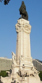 Fotografia do Monumento ao Marquês de Pombal, em Lisboa / Photo of the Monument to the Marquis of Pombal, in Lisbon