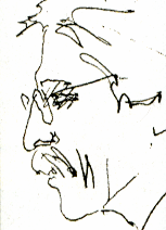 Drawing of Manuel Correia Fernandes